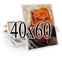 печать на натуральном хлопковом холсте 40х60