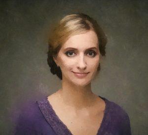 портрет в стиле акварель на холсте витебск