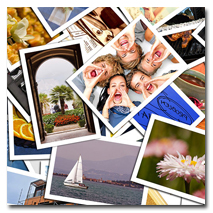 Подбираете несколько качественных фотографий для составления коллажа